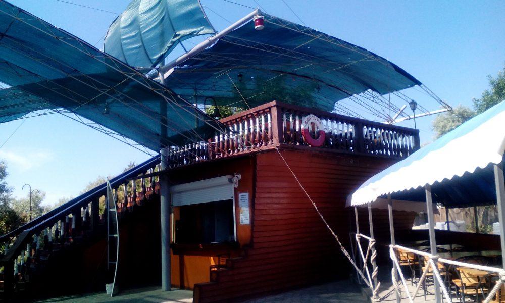 Кафе Фортуна на набережной, комплексное питание для туристов.